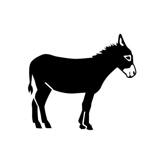Donkey Vinyl Decal Sticker V30