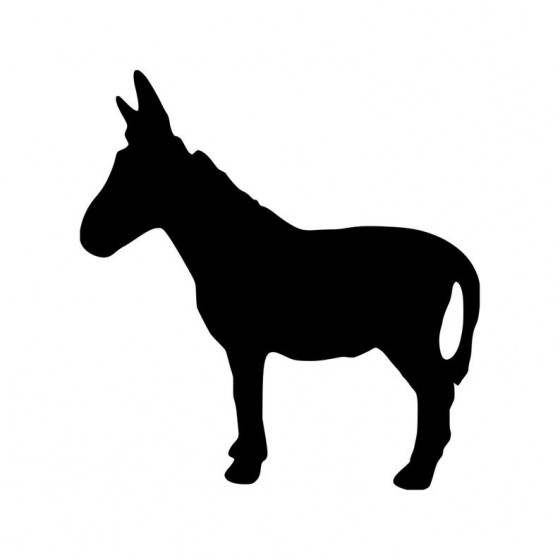 Donkey Vinyl Decal Sticker V32