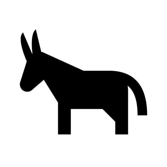 Donkey Vinyl Decal Sticker V38