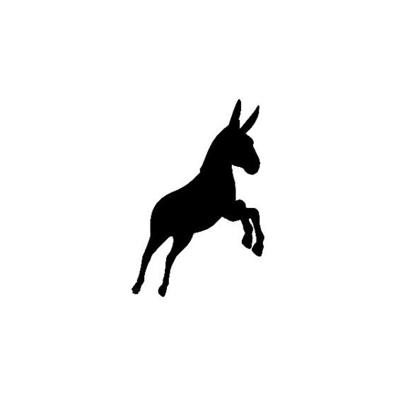 Donkey Vinyl Decal Sticker V4