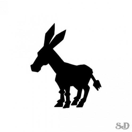 Donkey Vinyl Decal Sticker V41