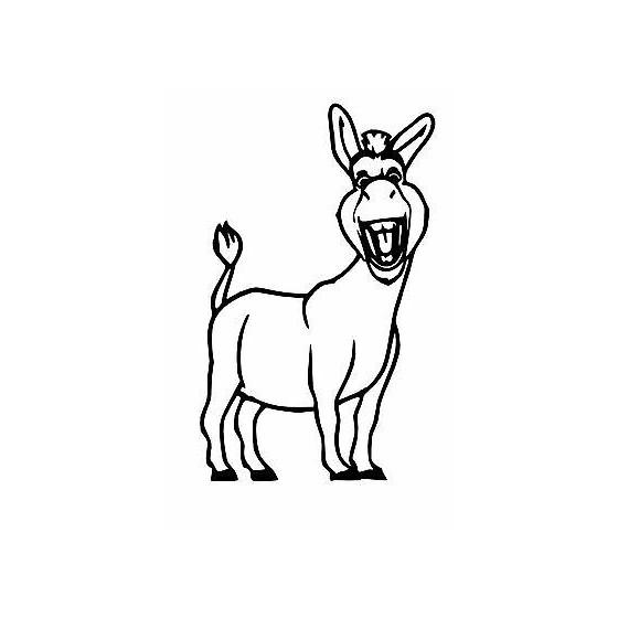 Donkey Vinyl Decal Sticker V43
