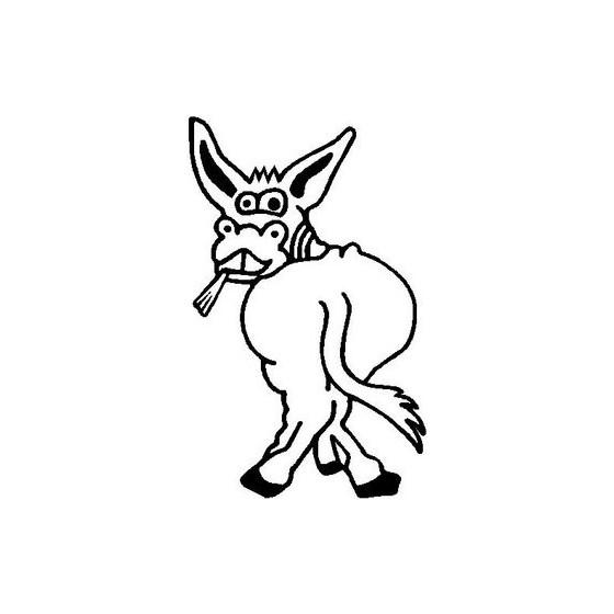 Donkey Vinyl Decal Sticker V44