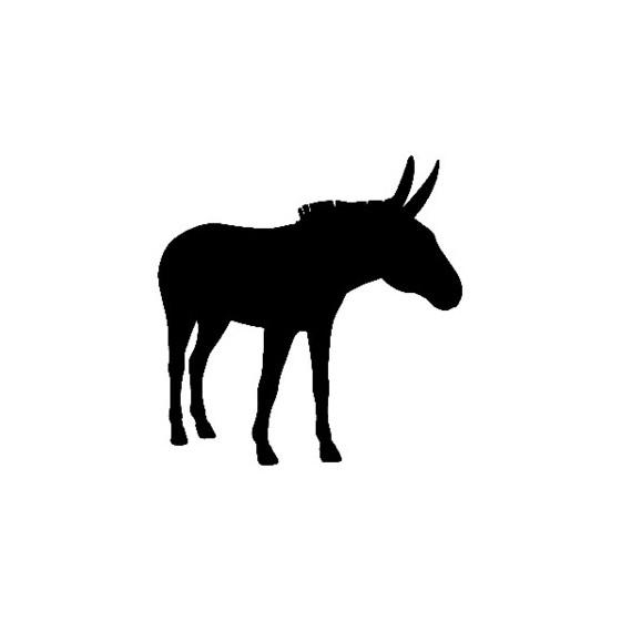 Donkey Vinyl Decal Sticker V6