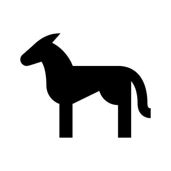 Donkey Vinyl Decal Sticker V64