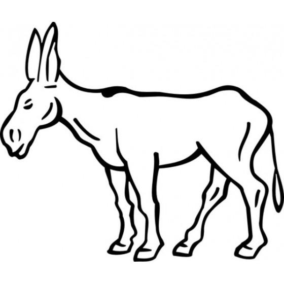 Donkey Vinyl Decal Sticker V65