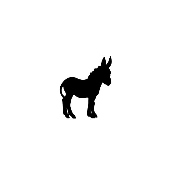 Donkey Vinyl Decal Sticker V67