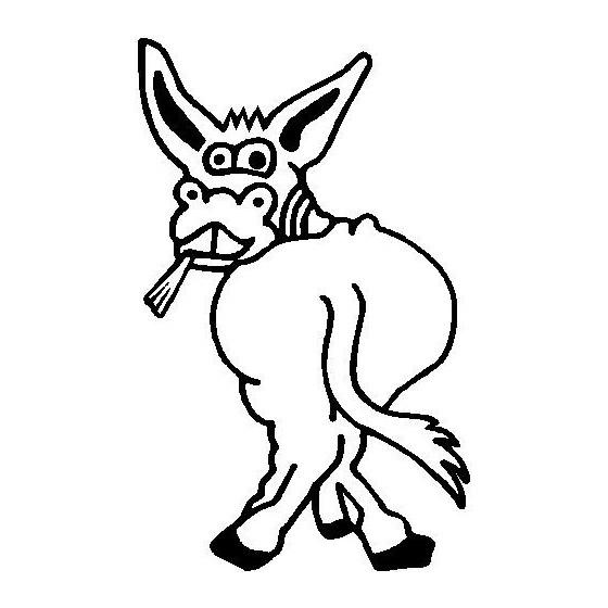 Donkey Vinyl Decal Sticker V72