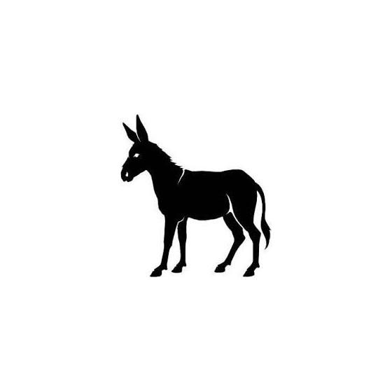 Donkey Vinyl Decal Sticker V73