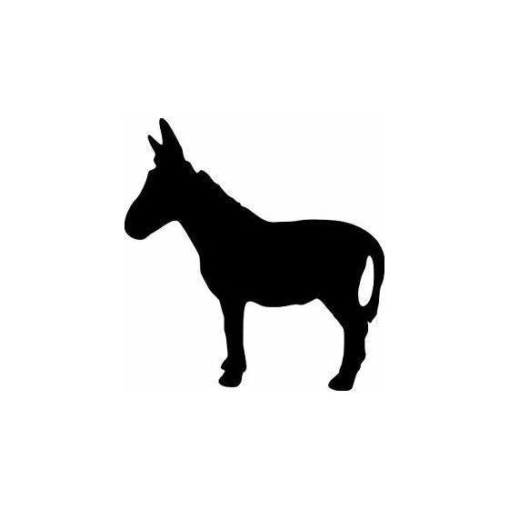 Donkey Vinyl Decal Sticker V86