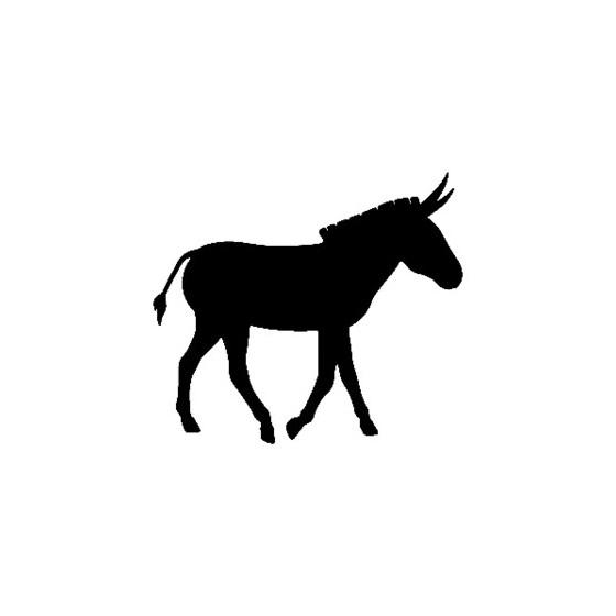 Donkey Vinyl Decal Sticker V9