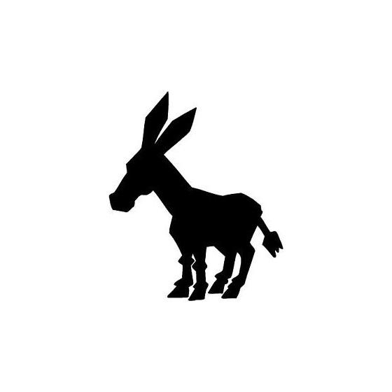 Donkey Vinyl Decal Sticker V96