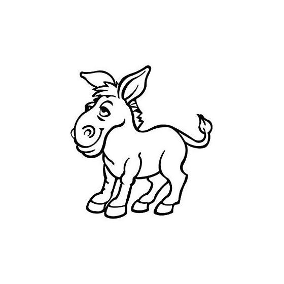 Donkey Vinyl Decal Sticker V98