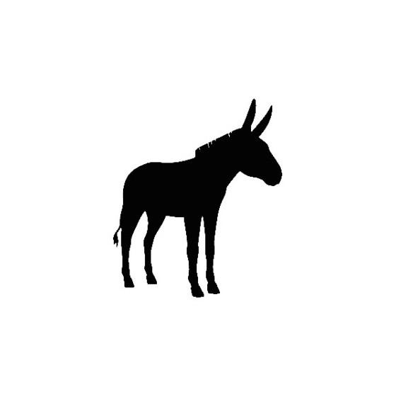 Donkey Vinyl Decal Sticker