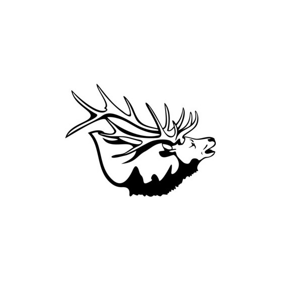 Elk Vinyl Decal Sticker V11
