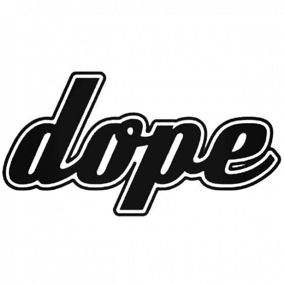 Dope 5 Decal Sticker