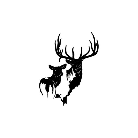 Elk Vinyl Decal Sticker V12
