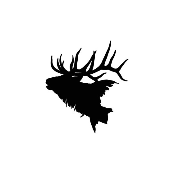 Elk Vinyl Decal Sticker V16