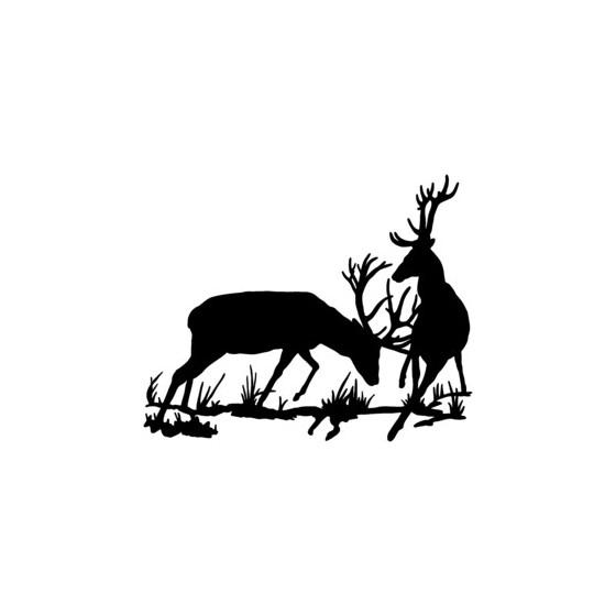 Elk Vinyl Decal Sticker V18