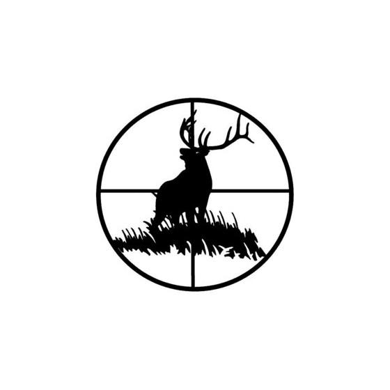 Elk Vinyl Decal Sticker V2
