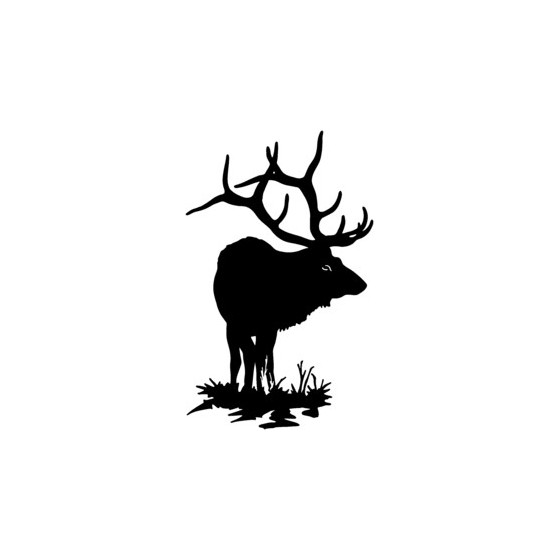 Elk Vinyl Decal Sticker V23