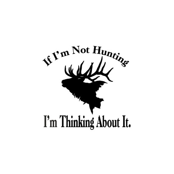 Elk Vinyl Decal Sticker V24