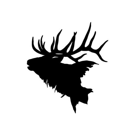 Elk Vinyl Decal Sticker V26