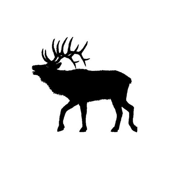 Elk Vinyl Decal Sticker V27