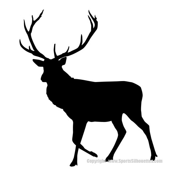 Elk Vinyl Decal Sticker V28