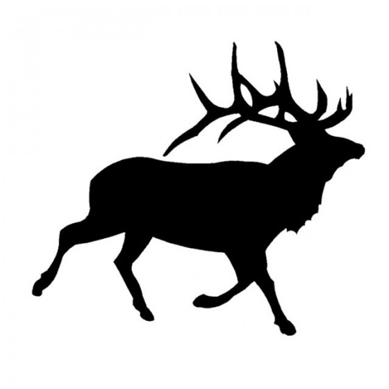 Elk Vinyl Decal Sticker V29
