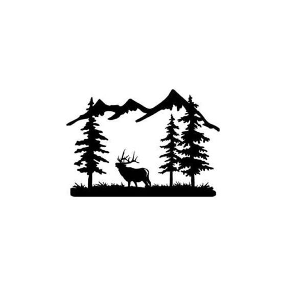 Elk Vinyl Decal Sticker V32