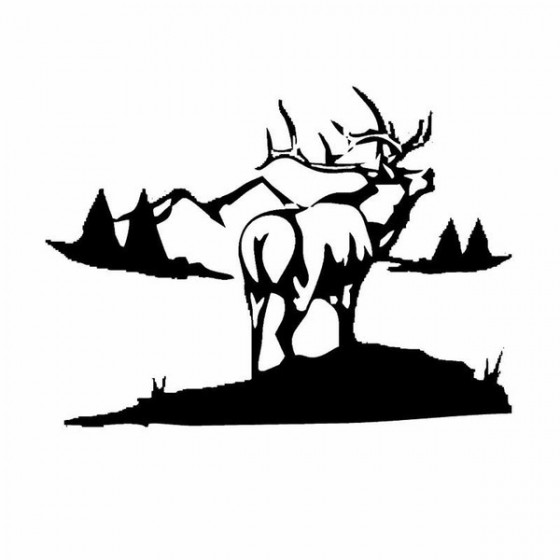 Elk Vinyl Decal Sticker V33