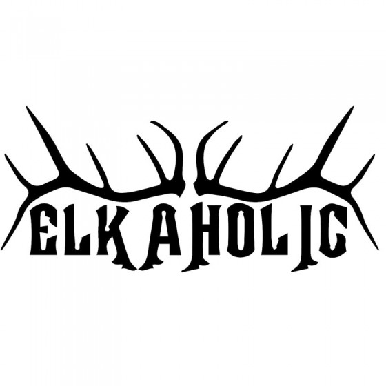 Elk Vinyl Decal Sticker V34