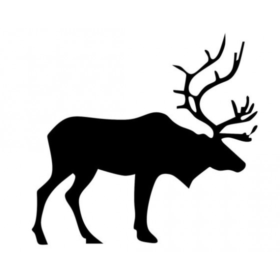Elk Vinyl Decal Sticker V35