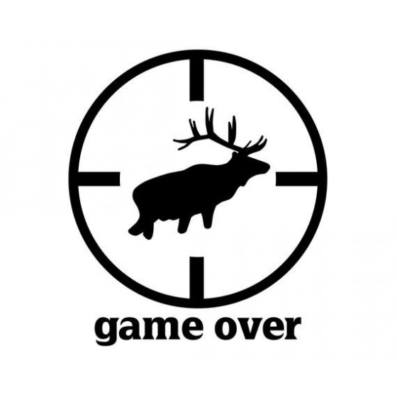 Elk Vinyl Decal Sticker V37