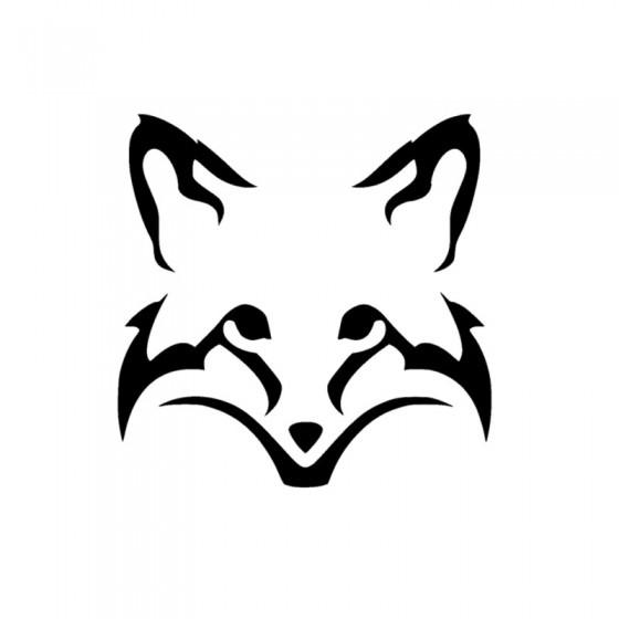 Fox Vinyl Decal Sticker V10