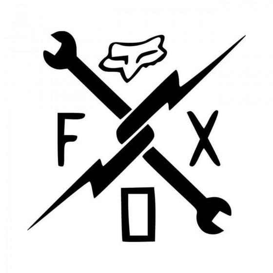 Fox Vinyl Decal Sticker V13