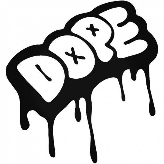 Dope 962 Sticker