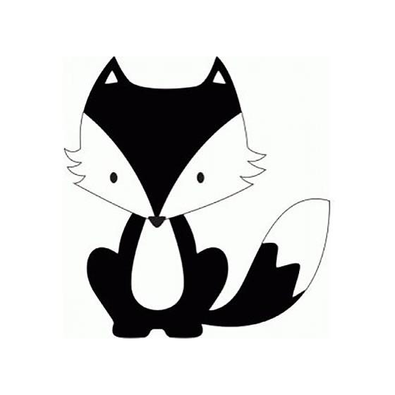 Fox Vinyl Decal Sticker V29