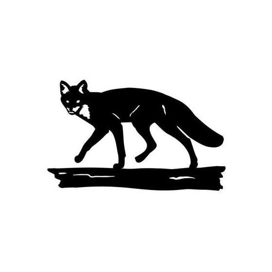 Fox Vinyl Decal Sticker V3