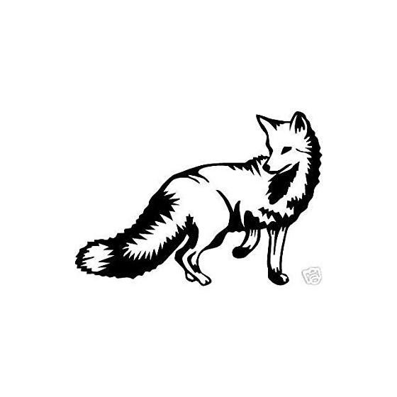 Fox Vinyl Decal Sticker V31