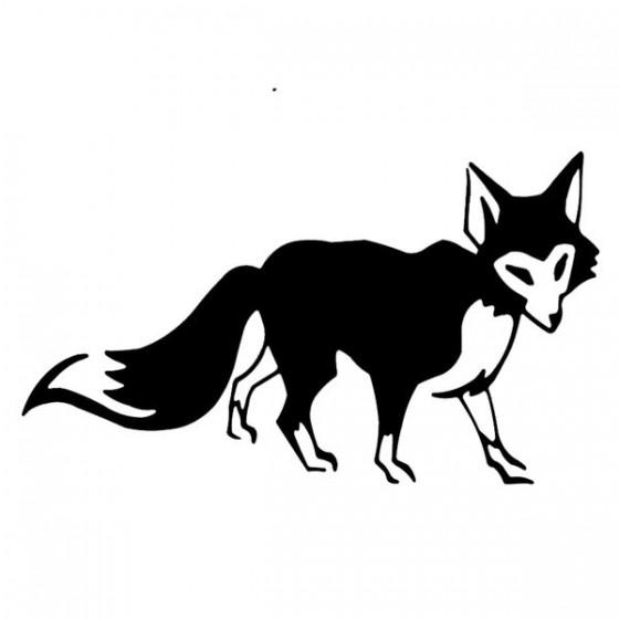 Fox Vinyl Decal Sticker V39