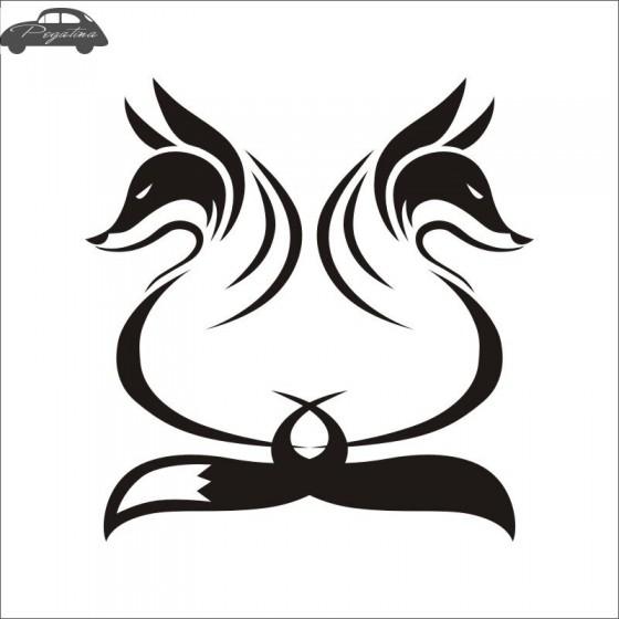 Fox Vinyl Decal Sticker V54