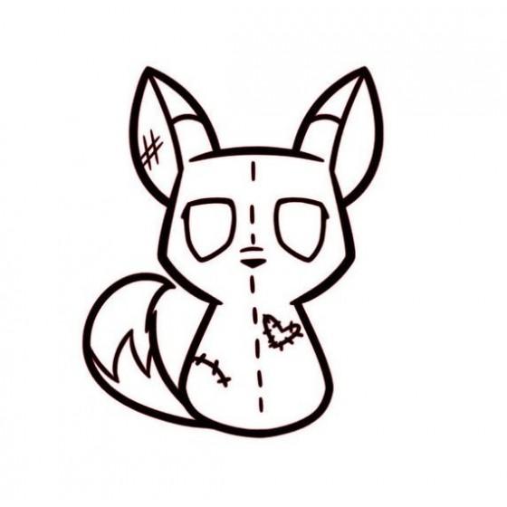 Fox Vinyl Decal Sticker V55