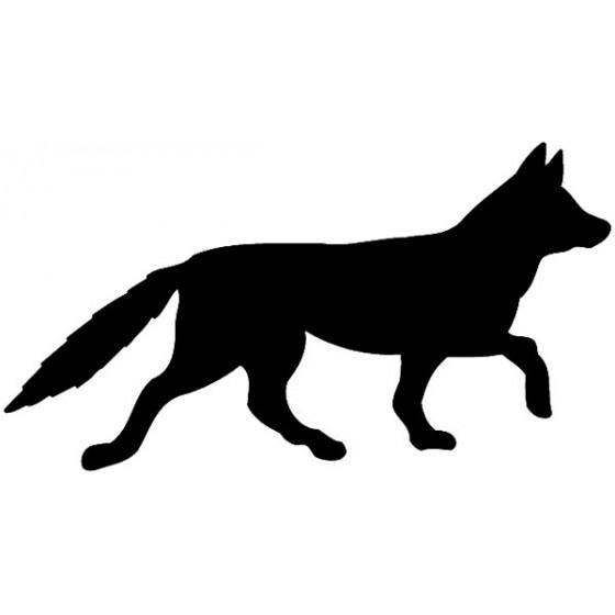 Fox Vinyl Decal Sticker V58
