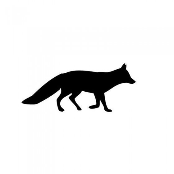 Fox Vinyl Decal Sticker V60