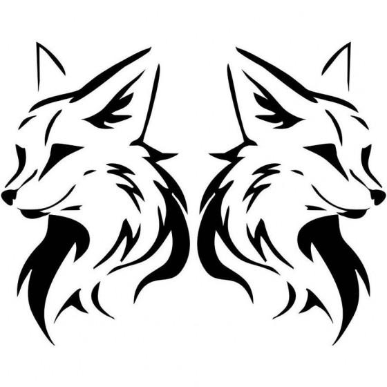 Fox Vinyl Decal Sticker V62