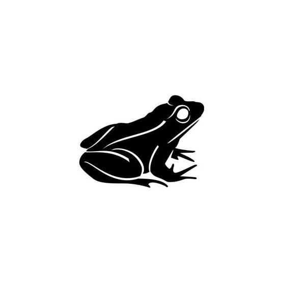 Frog Vinyl Decal Sticker V10