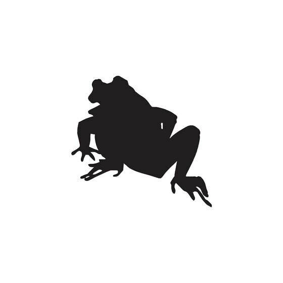 Frog Vinyl Decal Sticker V102