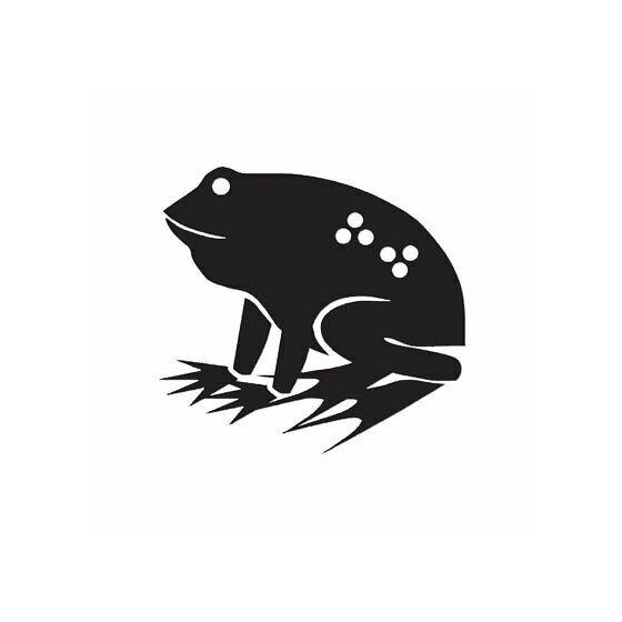 Frog Vinyl Decal Sticker V104